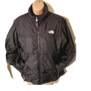 The Northface boys large sz 14 blk puffer coat 600
